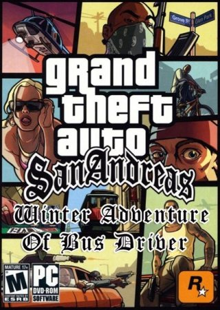 GTA: San Andreas - Winter Adventure Of Bus Driver