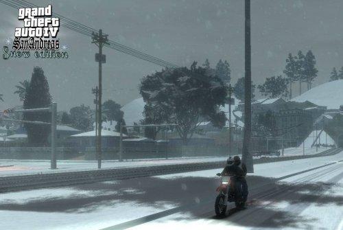 GTA 4: Snow Edition