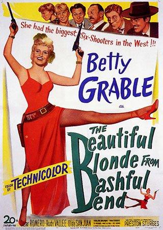 Прекрасная блондинка из Бэшфул Бенд