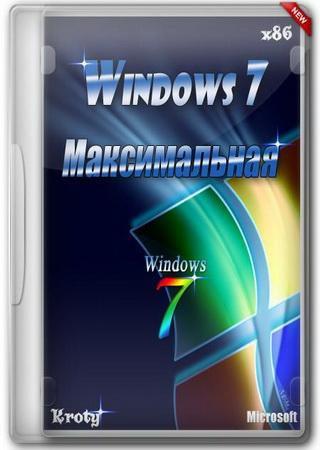 Windows 7 x86 Максимальная Kroty v.30.04.2012
