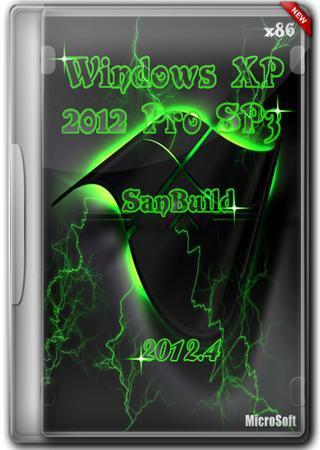 Windows XP Pro SP3 SanBuild 2012.4