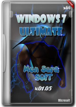 Windows 7 Ultimate x86 Men Sura Soft v.01.05.2012