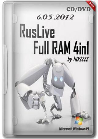 RusLiveFull RAM 4in1 by NIKZZZZ CD/DVD