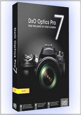 DxO Optics Pro 7.1.0 Revision 24002 Build 104
