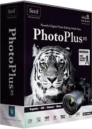 Serif PhotoPlus X5 v.15.0.1.11
