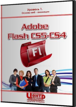 Adobe Flash CS5/CS4 - Уровень 1. Основы веб - анимации. Обучающий видеокурс
