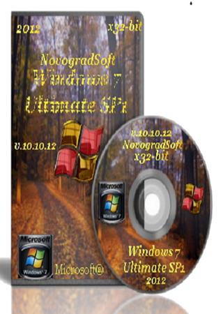 Windows 7 Ultimate SP1 x86 NovogradSoft v.10.10.12