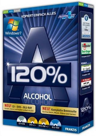 Alcohol 120% 2.0.2 Build 3931 Final + SPTD 1.83