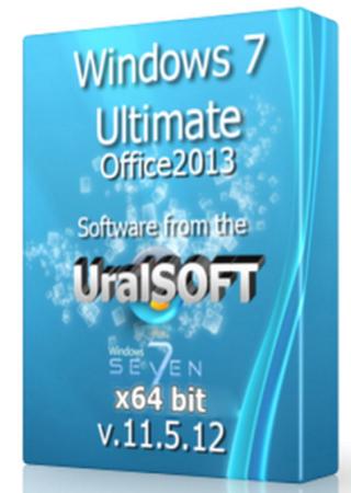Windows 7 x64 Ultimate UralSOFT & Office2013 v.11.5.12