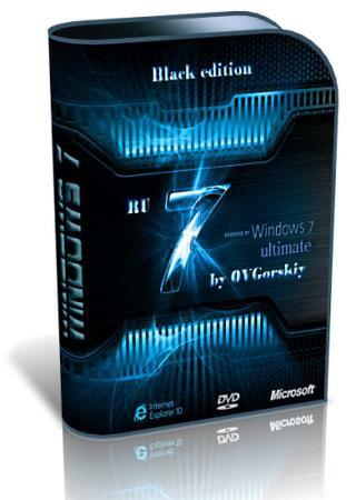 Windows 7 Ultimate Ru x64 SP1 Black by OVGorskiy 12.12