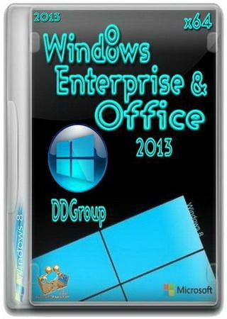 Windows 8 Enterprise & Office 2013 DDGroup v.2 [x64]