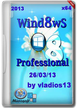 Windows 8 Professional vl by vladios13 (x64)