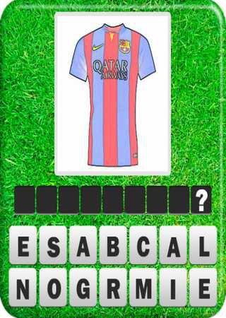 Угадай форму футбольного клуба
