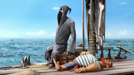 Джи – нестандартная смерть. Смерть и пират
