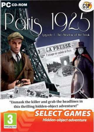 Paris 1925. Episode 1: The Shadow of the Freak
