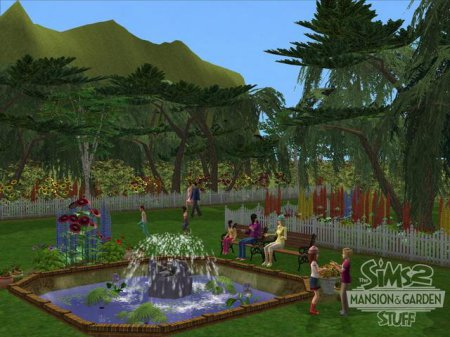 The Sims 2: Каталог – Сады и особняки