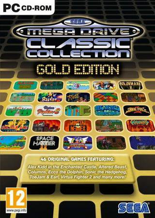 SEGA Mega Drive Classics Collection Gold Edition