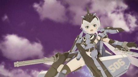 Рамка оружия: Девушка / Девушки Фрейм Армс