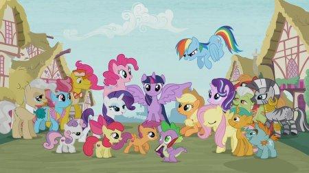 Мои маленькие пони. Дружба - это чудо (7 сезон)